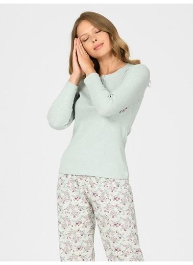 Nbb Pijama Takım Fuşya